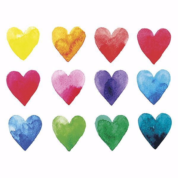 Picture of Color My Heart Wall Mural