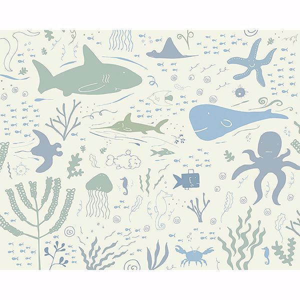 Picture of Underwater Adventures Wall Mural