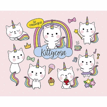 Picture of Kittycorn Wall Mural
