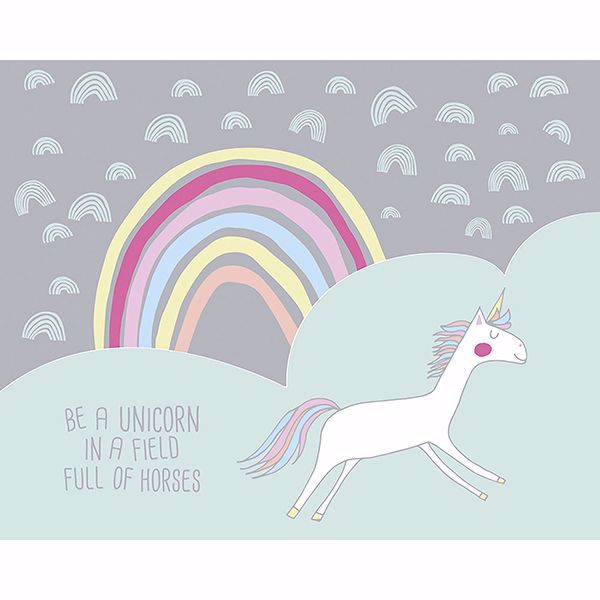 Picture of Unicorn Wall Mural