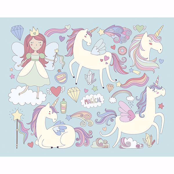 Picture of Unicorn Magic Wall Mural