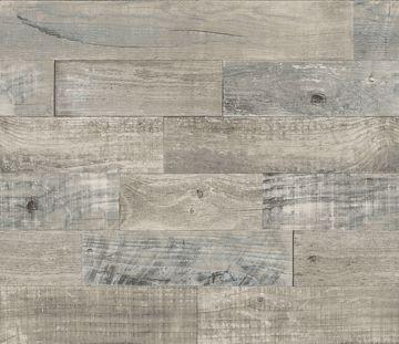 Picture of Coastal Wood Peel & Stick Backsplash Film - View