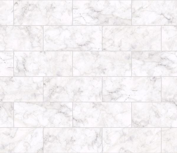 Picture of Marble Tile Peel & Stick Backsplash Film - View
