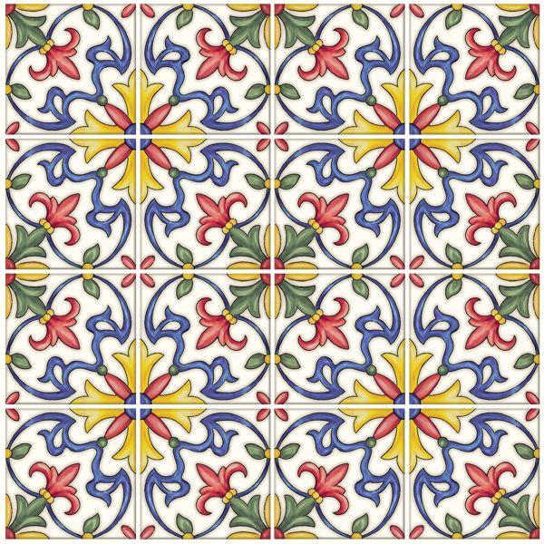Picture of Tuscan Tile Peel & Stick Backsplash Tiles - View