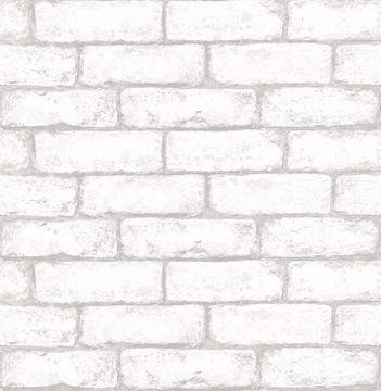 Picture of Cambridge Brick Peel & Stick Wallpaper  - View