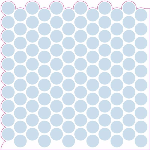 Picture of Penny Tile Peel & Stick Backsplash Tiles - View