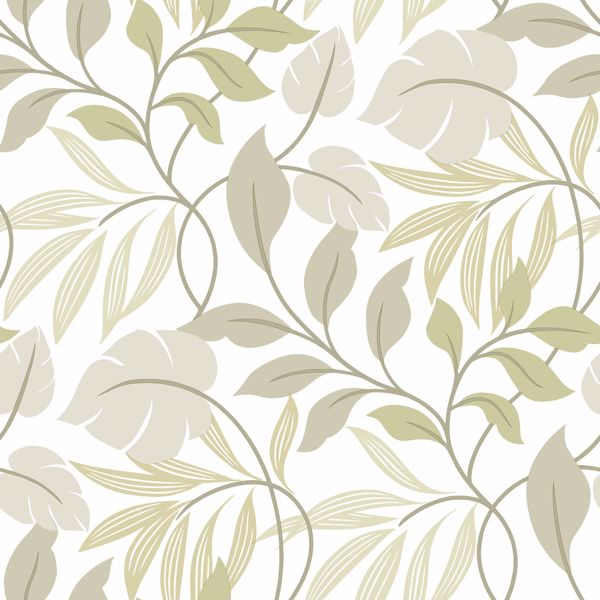 Picture of Neutral Meadow Peel & Stick Wallpaper - View