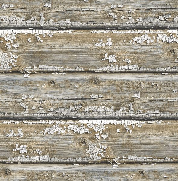 Picture of Planks Peel & Stick Wallpaper - View