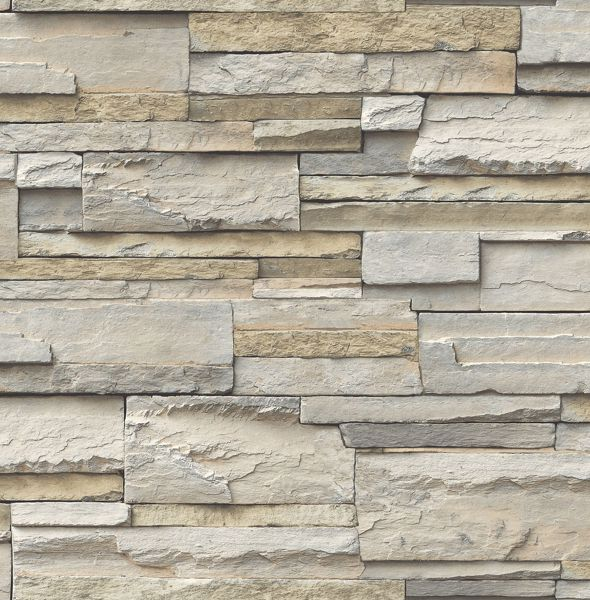Picture of Slate Peel & Stick Wallpaper - View
