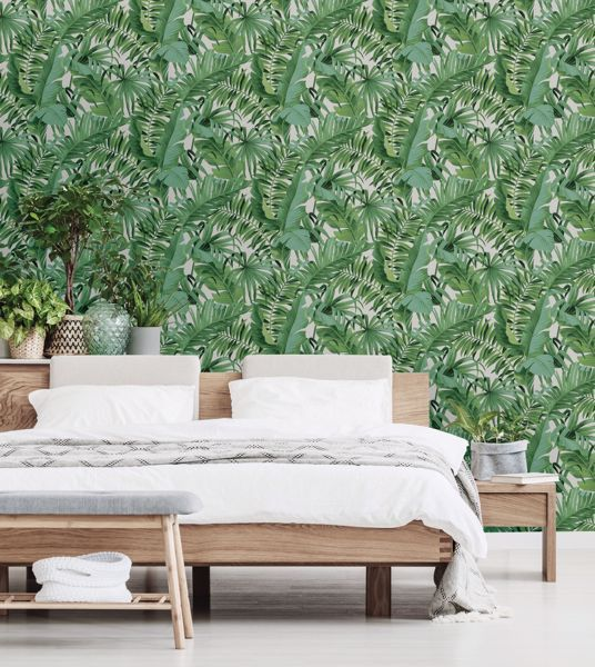Picture of Maui Peel and Stick Wallpaper - View