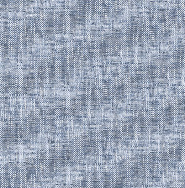 Picture of Navy Poplin Texture Peel & Stick Wallpaper - View