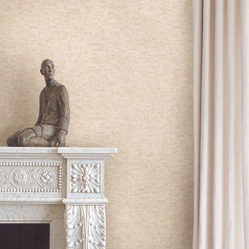 Picture of Belvedere Cream Faux Slate Wallpaper