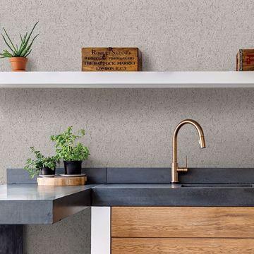 Picture of Guri Grey Faux Concrete Wallpaper