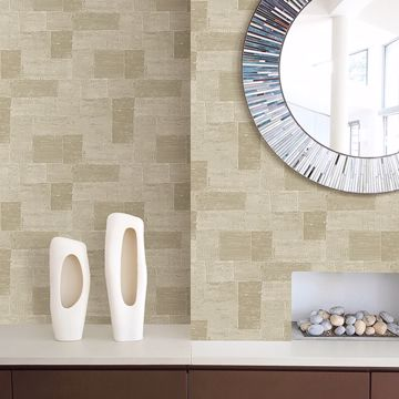 Picture of Composition Gold Global Geometric Wallpaper