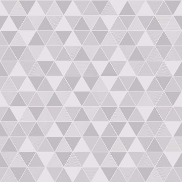 Picture of Triangular Light Grey Geometric Wallpaper
