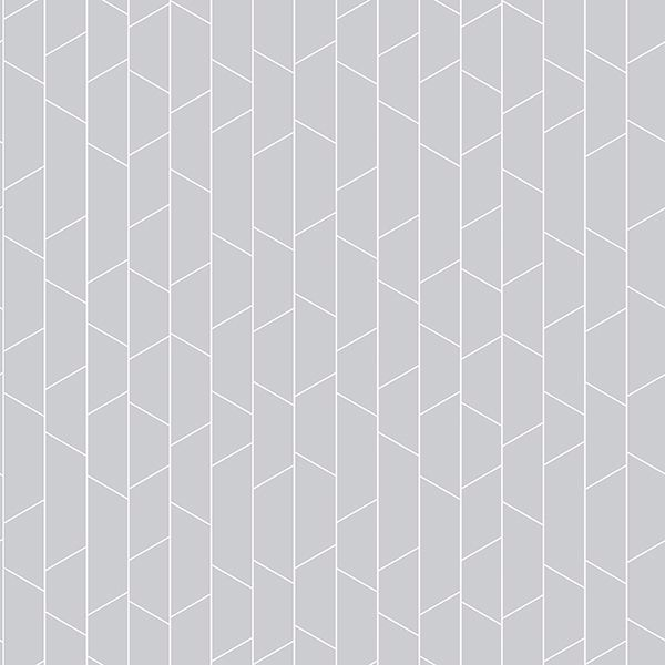 Picture of Angle Sage Geometric Wallpaper