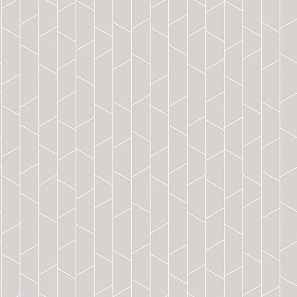 Picture of Angle Grey Geometric Wallpaper