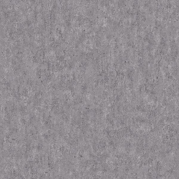 Picture of Raw Dark Grey Faux Concrete Wallpaper