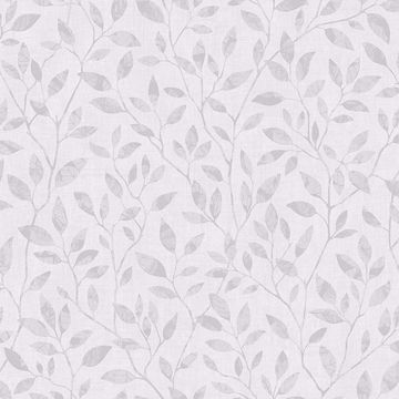 Picture of Willow Light Grey Silhouette Trail Wallpaper