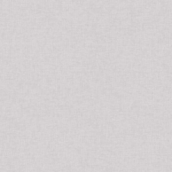 Picture of Zack Uni Grey Faux Linen Wallpaper