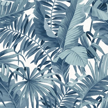 Picture of Blue Maui Peel and Stick Wallpaper