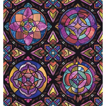 Picture of Kaleidoscope Window Film
