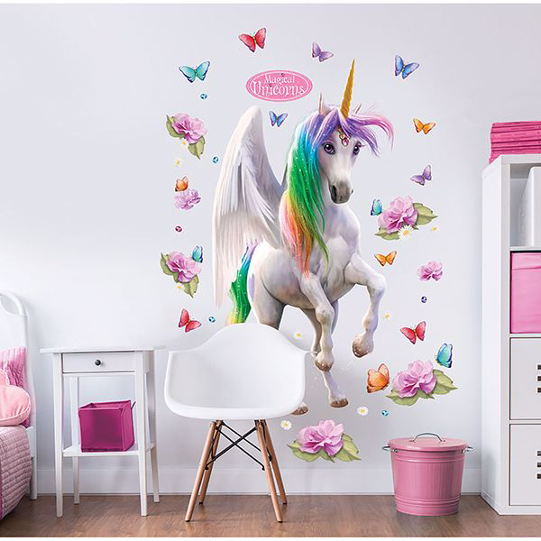Picture of Magical Unicorn Large Character Wall Stickers