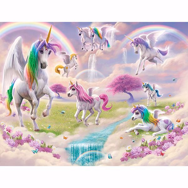 Picture of Magical Unicorn Wall Mural