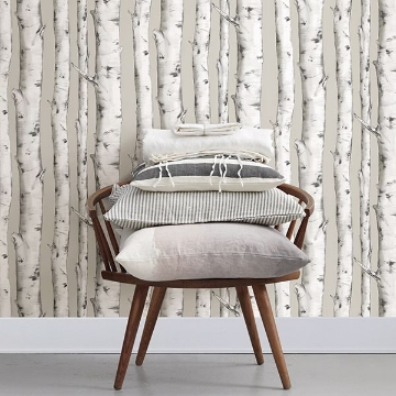 Picture of Downy Birch Peel & Stick Wallpaper