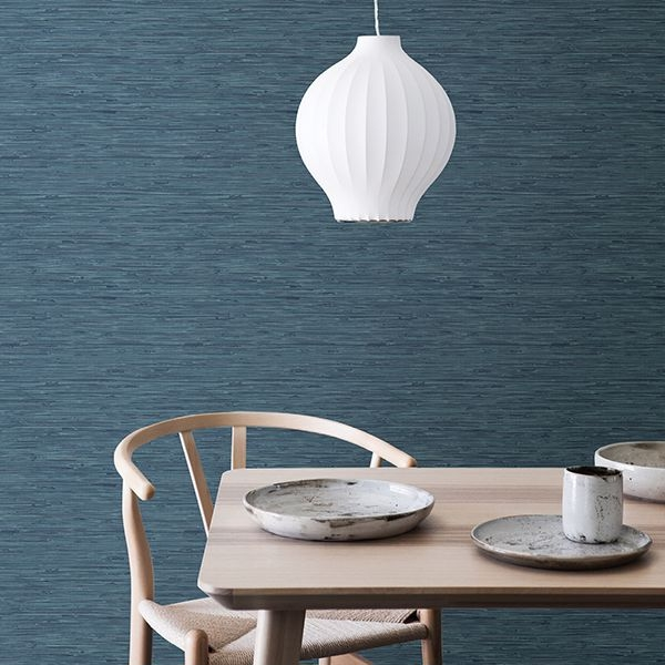 Picture of Sisal Midnight Peel & Stick Wallpaper