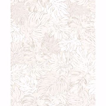 Picture of Cedar White Botanical Wallpaper