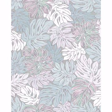 Picture of Cedar Grey Botanical Wallpaper