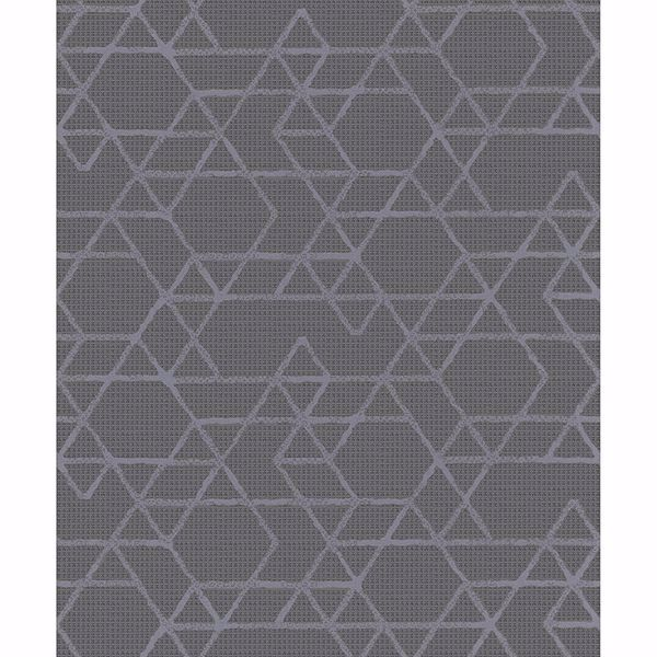 Picture of Montego Dark Grey Geometric Wallpaper