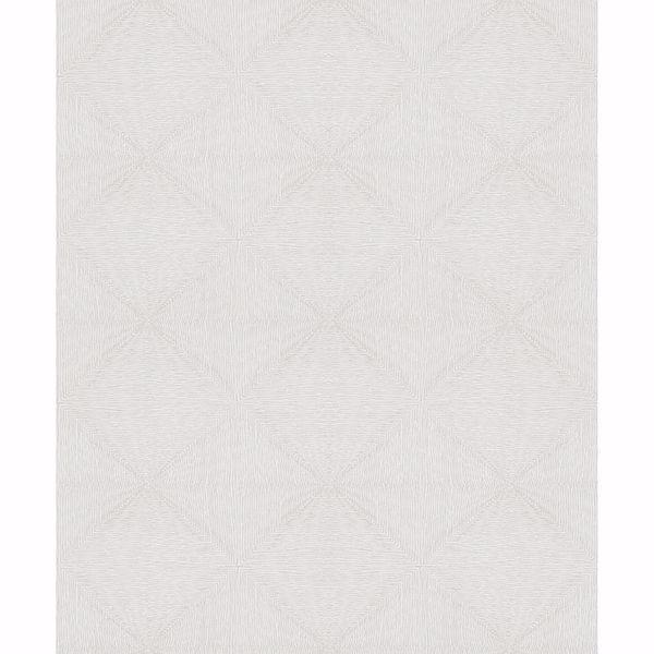 Picture of Mayra Grey Diamond Wallpaper