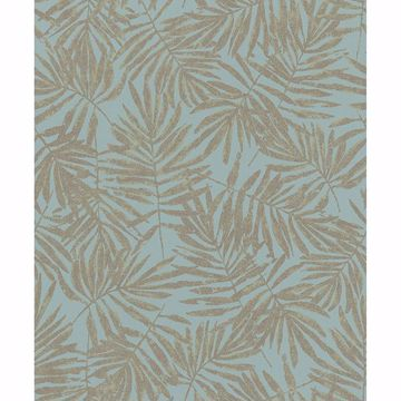 Picture of La Veneziana Green Leaf Wallpaper