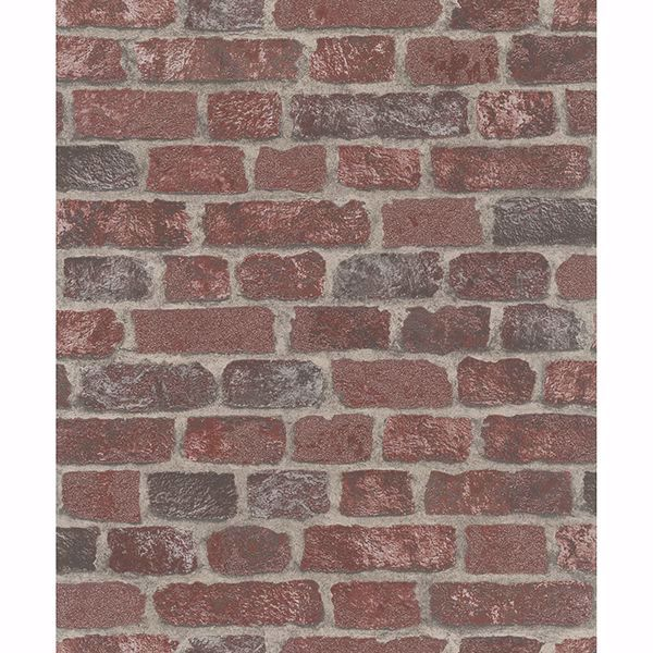 Picture of Granulat Red Stone Wallpaper