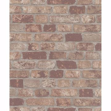 Picture of Granulat Brown Stone Wallpaper