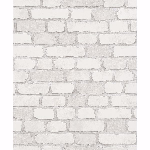 Picture of Granulat White Stone Wallpaper
