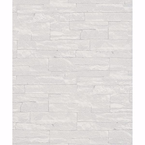 Picture of Rheta Grey Stone Wallpaper
