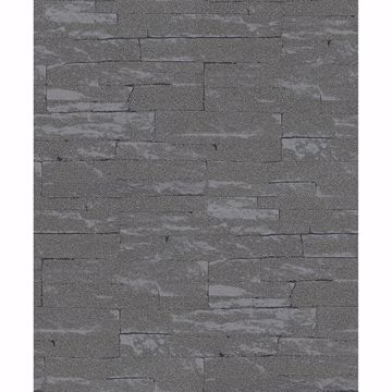 Picture of Rheta Charcoal Stone Wallpaper