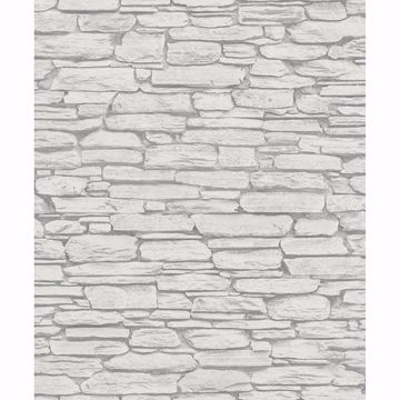 Picture of Kamen Light Grey Stone Wallpaper