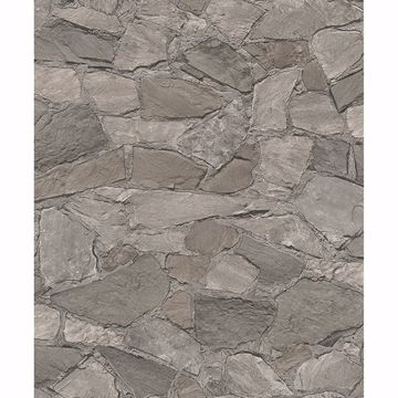 Picture of Stanley Charcoal Stone Wallpaper