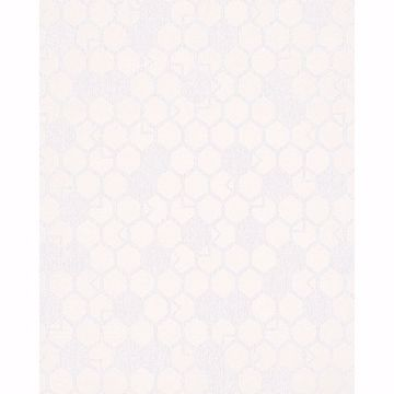 Picture of Natasha Cream Hexagon Wallpaper