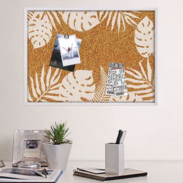 Picture of Lagoon Printed Cork Board