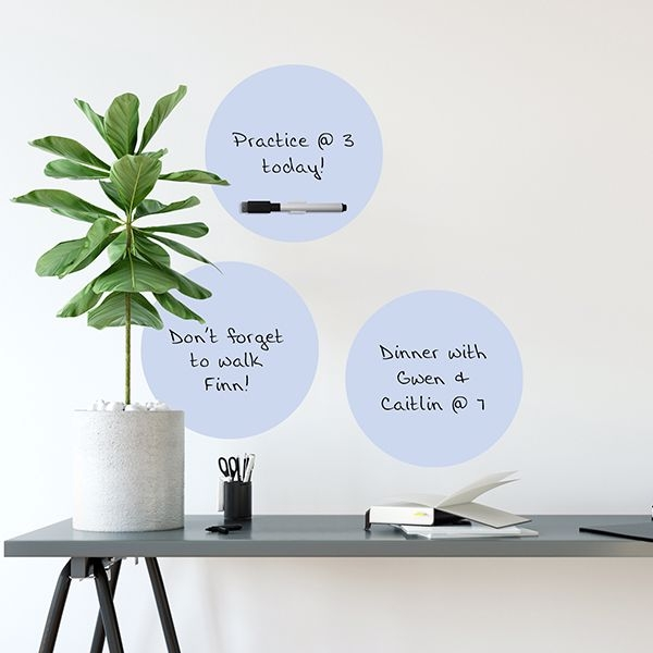 Calypso Dry Erase Dot Decal