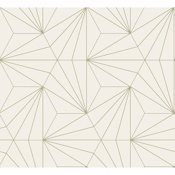 Picture of Luzon Cream Geometric Wallpaper