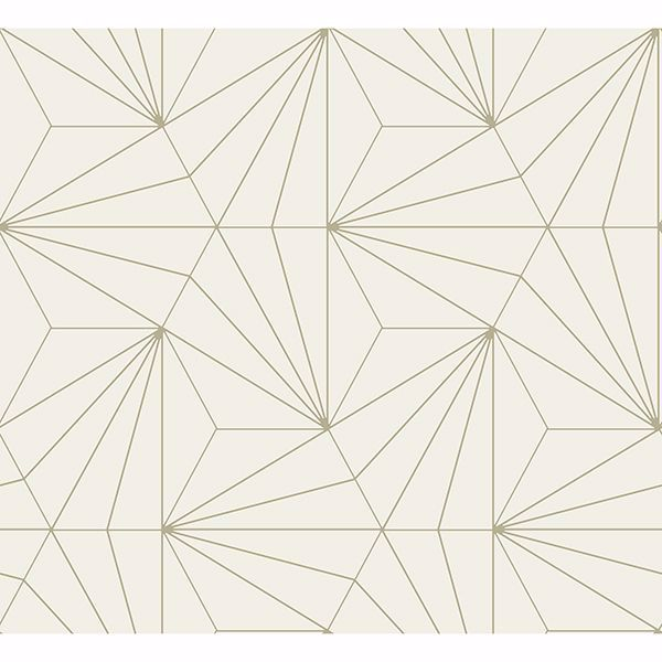 Picture of Luzon Cream Geometric Wallpaper
