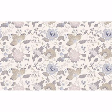 Picture of Latrice Multicolor Floral Wallpaper