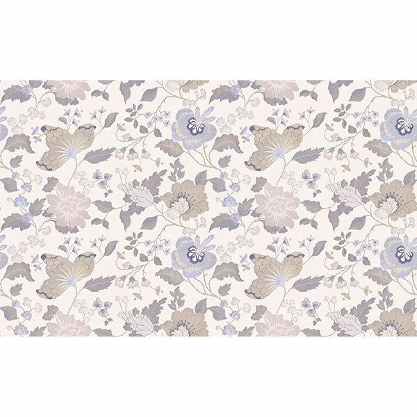 Picture of Latrice Multicolor Floral Wallpaper