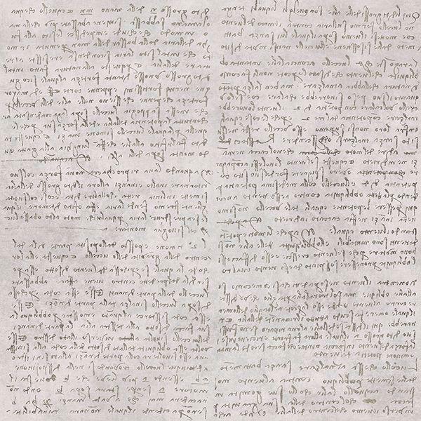 Picture of Manoscritto Taupe Script Wallpaper